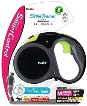 [ペティオ] StyleTrainer リールリード スマートコントロールM ディープブラック