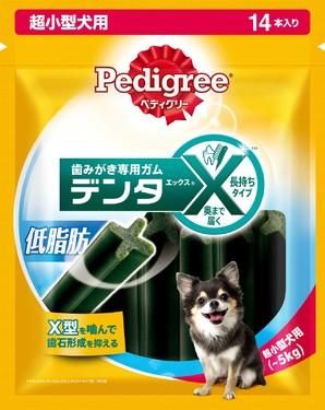 [マースジャパン] PX13 デンタX 超小型犬 低脂肪 14本