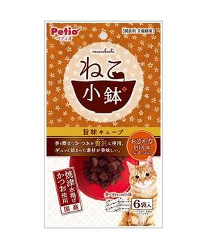 [ペティオ] ねこ小鉢 旨味キューブ おさかなMIX味 6袋入