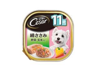 CE69N シーザー 11歳からの 絹ささみ 野菜・玄米入り 100g