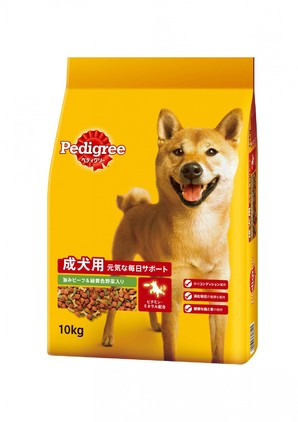 PDN4 ペディグリー 成犬用 旨みビーフ&緑黄色野菜入り 10kg