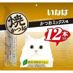 [いなばペットフード] いなば焼かつお12本かつおミックス味 QSC-24