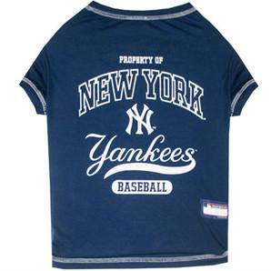 [ラブリー・ペット] ニューヨークヤンキース Tシャツ XLサイズ