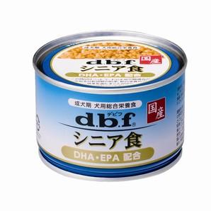 [デビフペット] シニア食 DHA・EPA配合 150g