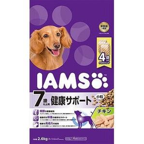 [マースジャパン] IAMAS アイムス 7歳以上用 健康サポート チキン 小粒 2.6kg