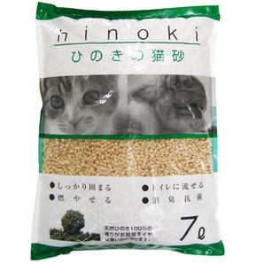 [ペットプロ] KPG ひのきの猫砂 7L