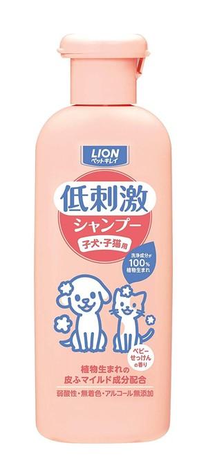 [ライオン商事] ペットキレイ 低刺激シャンプー 子犬・子猫用 220ml