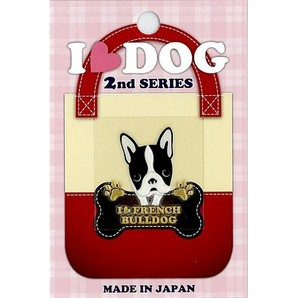 [東洋ケース] I LOVE DOG2 10 Fブルドッグ