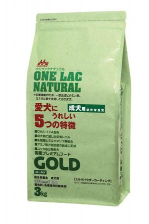 [森乳サンワールド] ワンラック ナチュラルニューゴールド 3kg