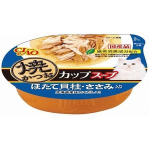 焼かつおカップスープほたて60g NC−72