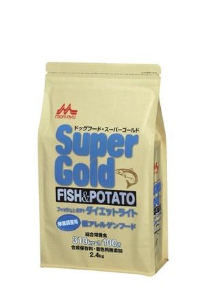 [森乳サンワールド] スーパーゴールド フィッシュアンドポテト ダイエットライト 2.4kg