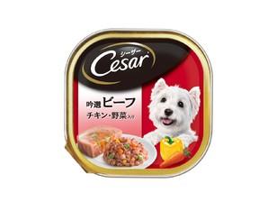 CE29N シーザー 吟選ビーフ チキン・野菜入り 100g